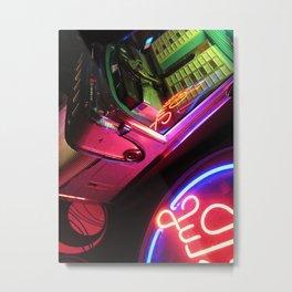 Jukebox Metal Print