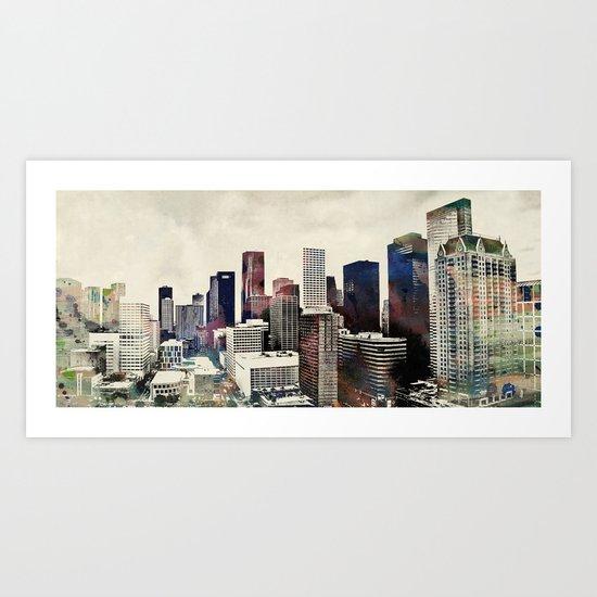 Space City Art Print