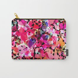Hawaiian Batik Floral Carry-All Pouch