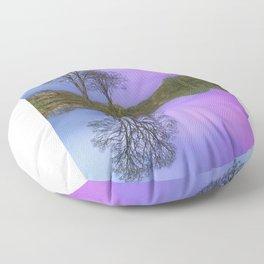 Calm As A Millpond Floor Pillow
