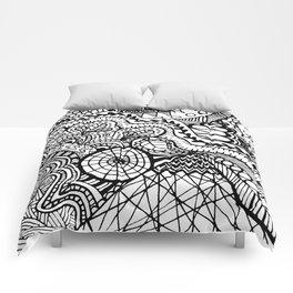 Doodle2 Comforters