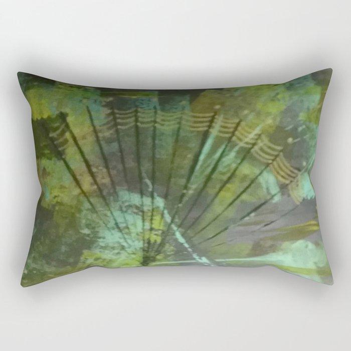 Quiet of the Deep Rectangular Pillow