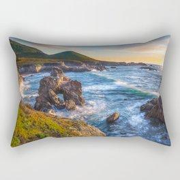 Soberanes Point Sunset, Big Sur Rectangular Pillow