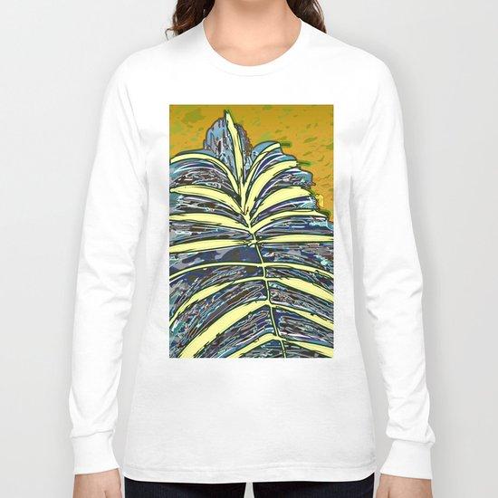 Palm Leaf Fosil 2 / Nature 13-12-16 Long Sleeve T-shirt