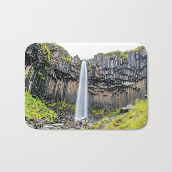 Smooth Svartifoss Bath Mat