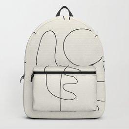 Minimal Abstract Shapes 02 Backpack