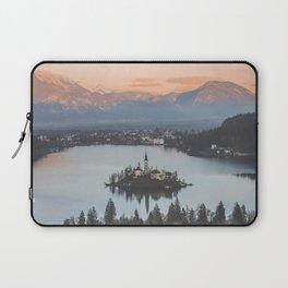 Lake Bled, Slovenia Laptop Sleeve