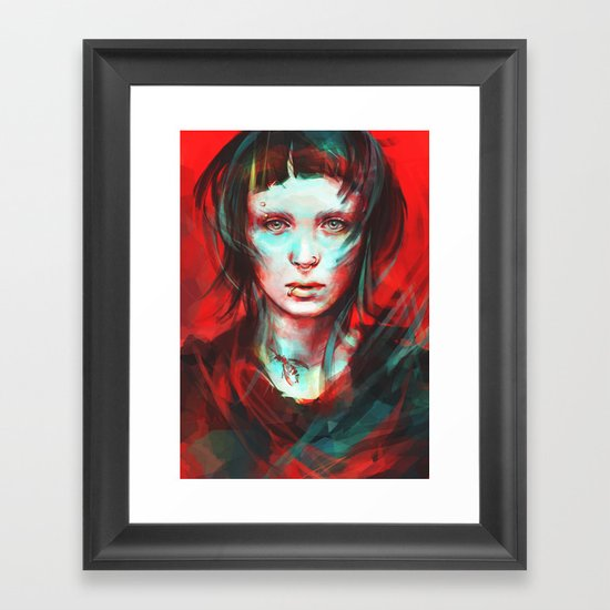 Wasp Framed Art Print