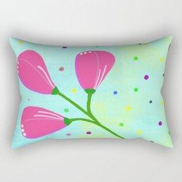 Springtime, original Rectangular Pillow