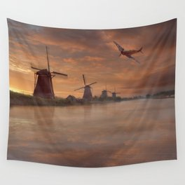 Dawn Recon Wall Tapestry