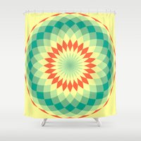 vector Shower Curtains featuring vector 4 by Ace of Spades