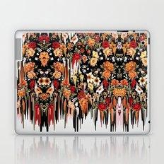Free Falling, melting floral pattern Laptop & iPad Skin