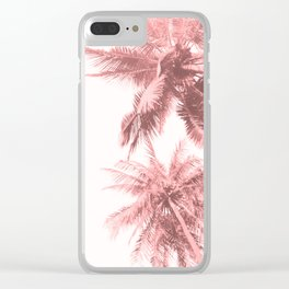 California Dreamin' in Pink Clear iPhone Case