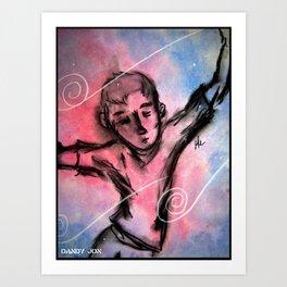 Falling in a Dream Art Print