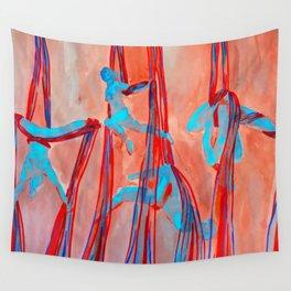 Aerial Quartet Wall Tapestry