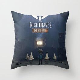 Little Nightmares The Hideway Throw Pillow