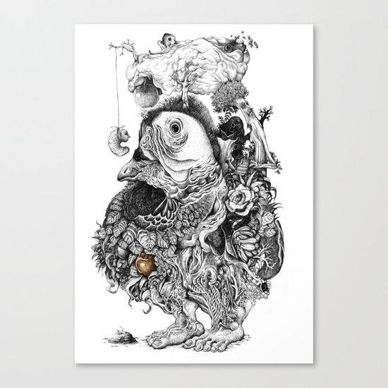 organism Canvas Print