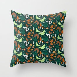 Nordic Forest Throw Pillow
