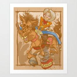 Frontier Psychiatrist Art Print