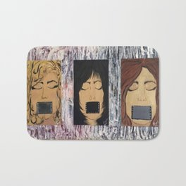 Silenced Girls  Bath Mat