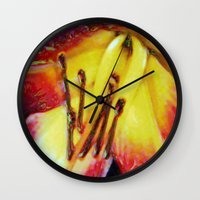 georgia Wall Clocks featuring Georgia by Stephen Linhart