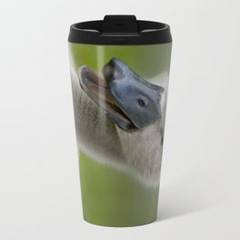 Happy Quacky Cygnet Travel Mug