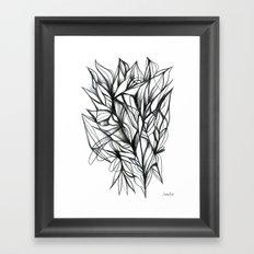 D16 Framed Art Print