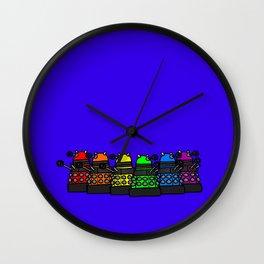 Dalek Pride! Wall Clock