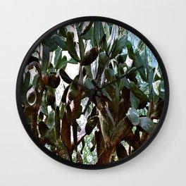 Big cactus Wall Clock
