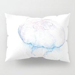 Aurelia aurita (color) Pillow Sham