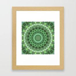 mandala instinctiveness Framed Art Print