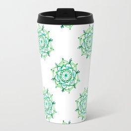 Greenery Mandala Travel Mug
