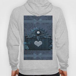 A touch of steampunk with elegant heart Hoody