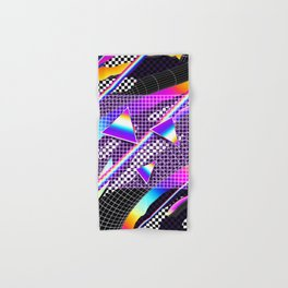 Retro Pattern Hand & Bath Towel