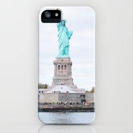 263. Mademoiselle Liberty, New York iPhone Case