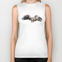 andreas preis Biker Tanks featuring Arctic Eagle by Andreas Lie