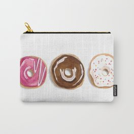 Donuts in watercolor Carry-All Pouch