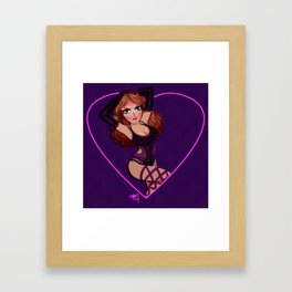 RPDR6: Joslyn Fox  Framed Art Print