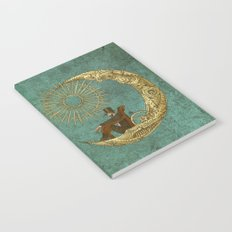 Moon Travel Notebook