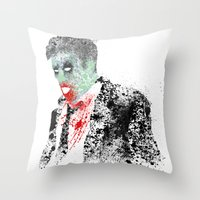kieren walker Throw Pillows featuring Walker by Evan