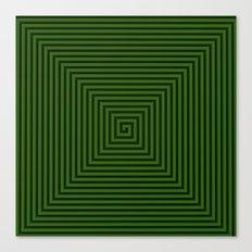 Squared Spiral Canvas Print
