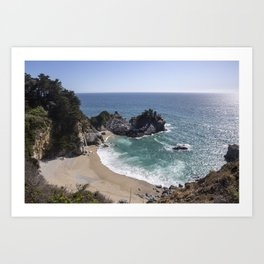 McWay Falls, Big Sur California Art Print