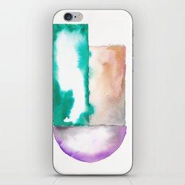 180914 Minimalist Geometric Watercolor 7 iPhone Skin