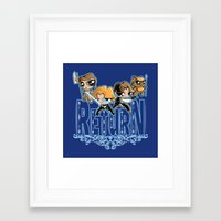 return Framed Art Prints featuring Return by SilverBaX