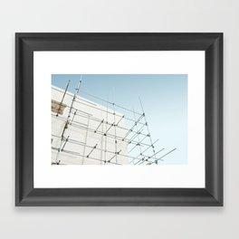 Curaçao - Konstrukshon Framed Art Print