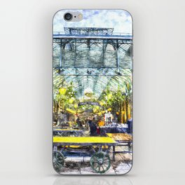 Covent Garden Market London Art iPhone Skin