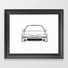 90-91 Framed Art Print