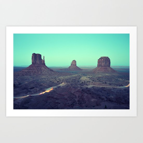 monument valley 5 Art Print