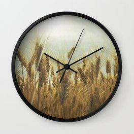 Near Harvest Wall Clock