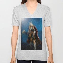 Thor, the Goddess of Thunder Unisex V-Neck